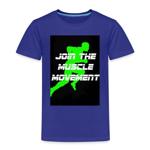 muscle movement - Toddler Premium T-Shirt