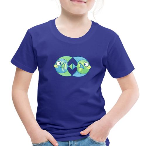 Tropical fishes remain in love despite conflicts - Toddler Premium T-Shirt