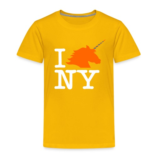 I Unicorn New York (Kristaps Porzingis) - Toddler Premium T-Shirt
