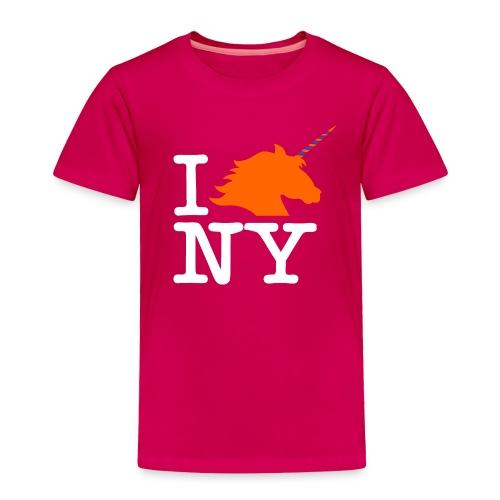 I Unicorn New York (Kristaps Porzingis) - Toddler Premium T-Shirt