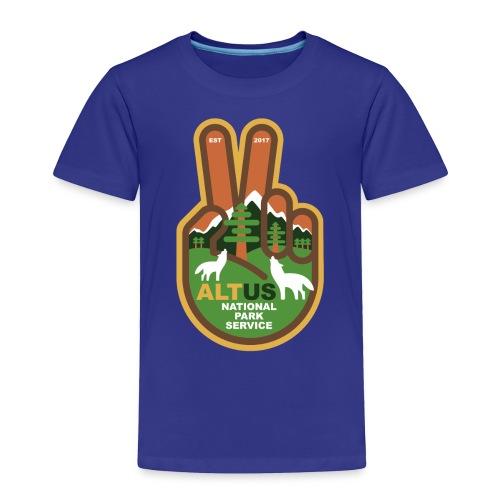 ALT US National Park Service - Peace - Toddler Premium T-Shirt