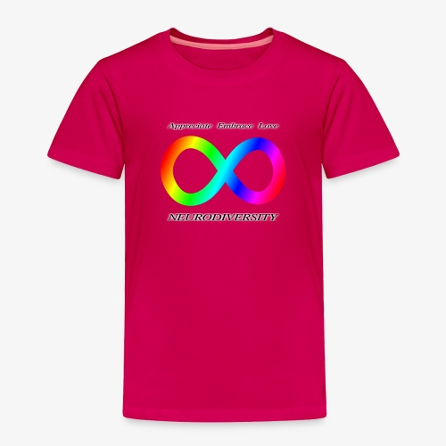 Embrace Neurodiversity - Toddler Premium T-Shirt