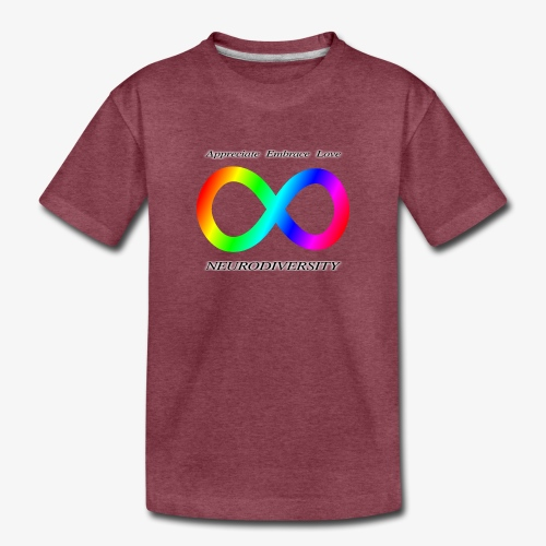 Embrace Neurodiversity - Toddler Premium T-Shirt