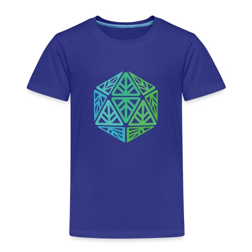 Green Leaf Geek Iconic Logo - Toddler Premium T-Shirt
