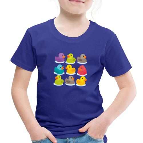 More rubber ducks to the people! - Toddler Premium T-Shirt
