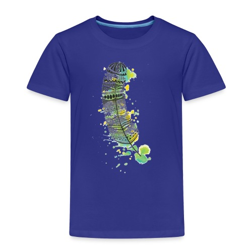 Geometric Feather - Toddler Premium T-Shirt