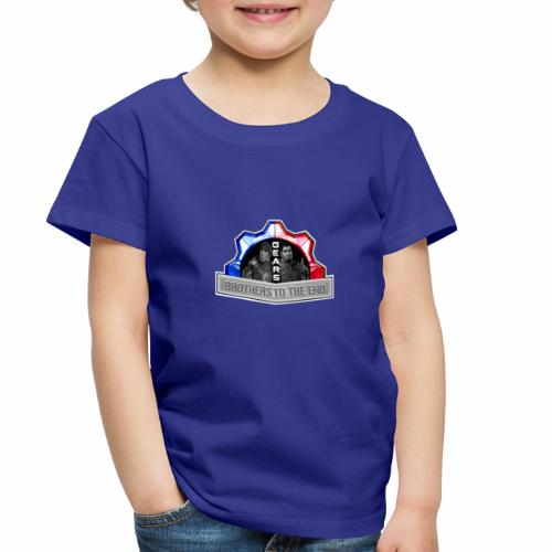 BROS TO THE END GEARS - Toddler Premium T-Shirt