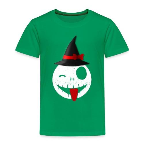 Halloween Emoticon - Toddler Premium T-Shirt