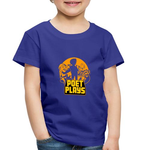 Poet Plays RETRO - Toddler Premium T-Shirt