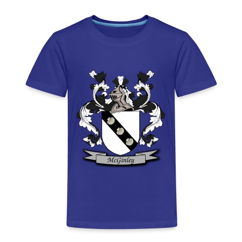 McGinley Family Crest - Toddler Premium T-Shirt