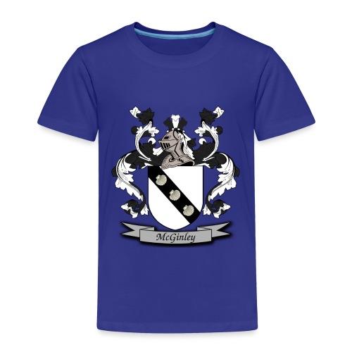 McGinley Family Crest - Toddler Premium T-Shirt