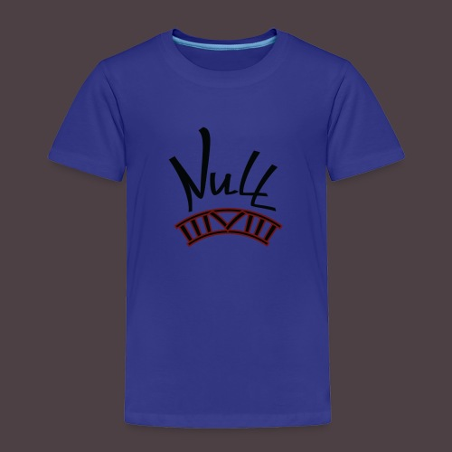 Null Logo - Toddler Premium T-Shirt
