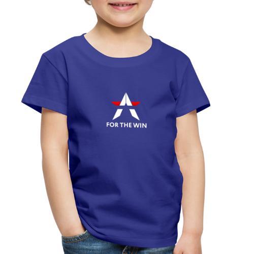 For The Win Blue Merch - Toddler Premium T-Shirt