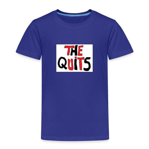 quits logo - Toddler Premium T-Shirt