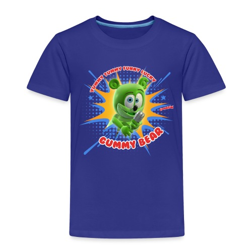 Funny Lucky Gummy Bear - Toddler Premium T-Shirt