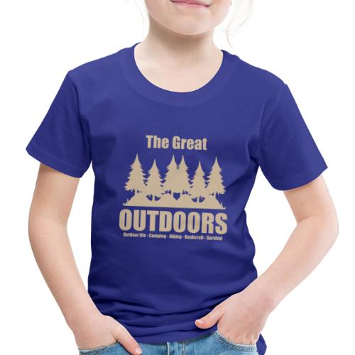 The great outdoors - Clothes for outdoor life - Toddler Premium T-Shirt