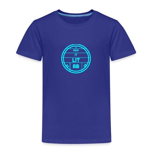 AB KEPP IT LIT 50 SUBS MERCH - Toddler Premium T-Shirt