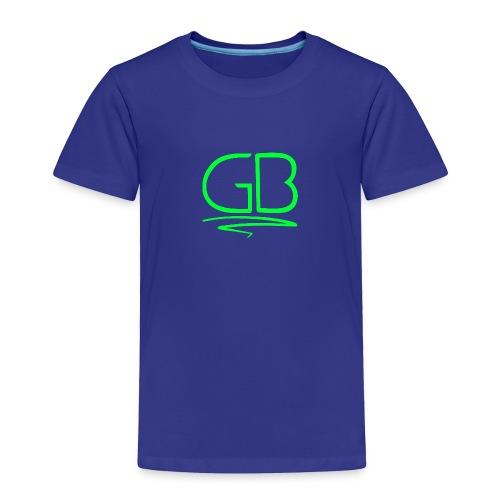 Green GB logo - Toddler Premium T-Shirt