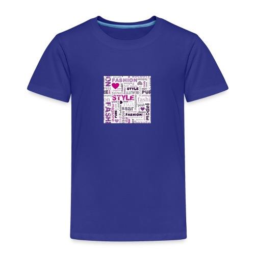 fashion word collage - Toddler Premium T-Shirt