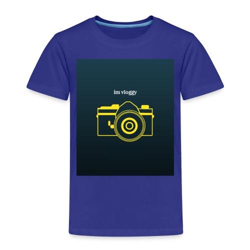 im vloggy - Toddler Premium T-Shirt