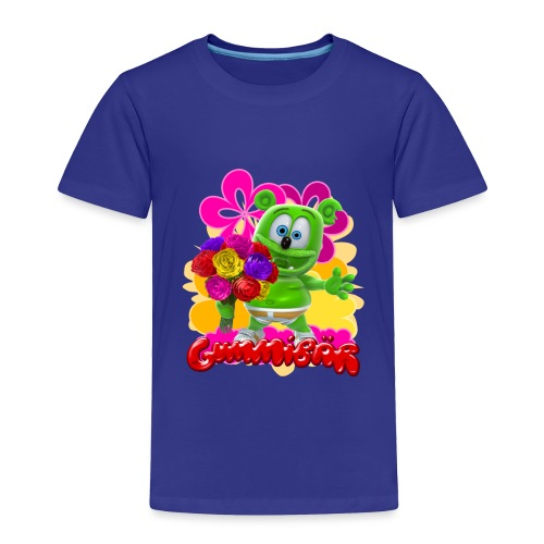 Gummibär Flowers - Toddler Premium T-Shirt