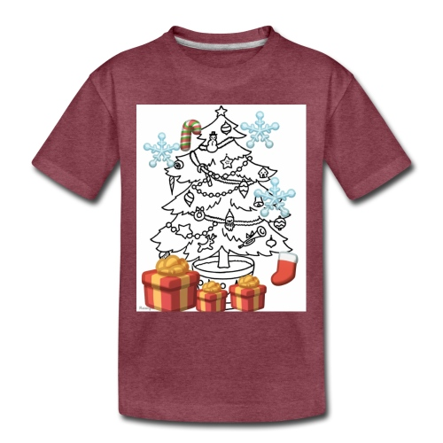 Christmas is here!! - Toddler Premium T-Shirt