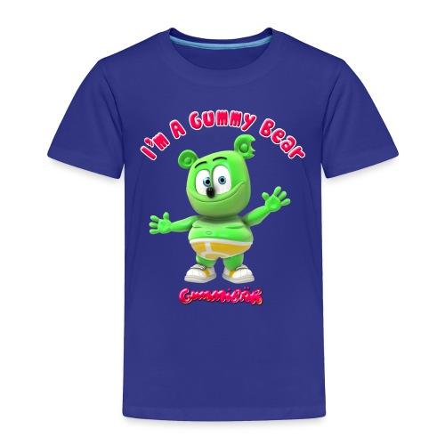 I'm A Gummy Bear - Toddler Premium T-Shirt