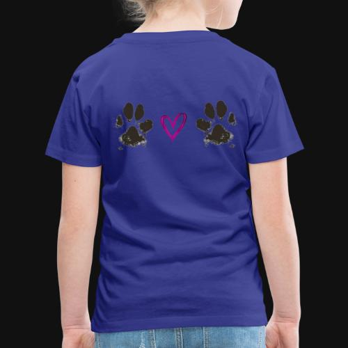 Paw Love black - Toddler Premium T-Shirt