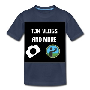 TJK Vlogs and More logo clothing - Toddler Premium T-Shirt