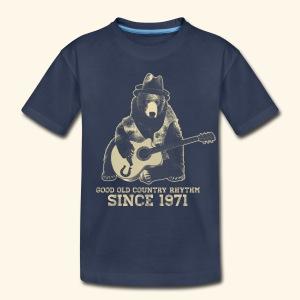 Good Old Country Rhythm - Toddler Premium T-Shirt