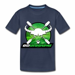 Go Yakking on Green - Toddler Premium T-Shirt