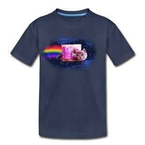 Space Cat - Toddler Premium T-Shirt