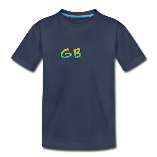 Gunsibgamer-gren and yellow logo - Toddler Premium T-Shirt