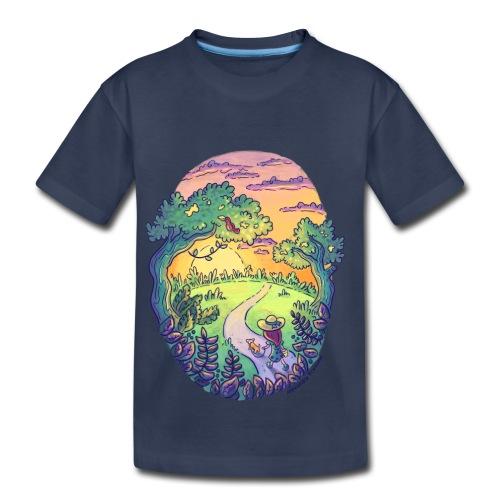 Rainbow Walk - Toddler Premium T-Shirt