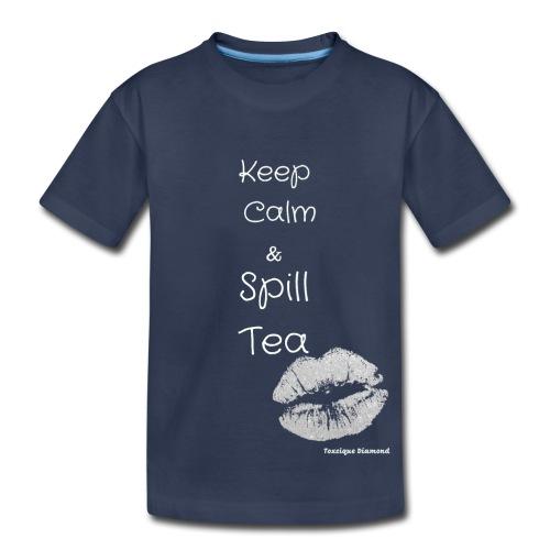White Calm Lips - Toddler Premium T-Shirt