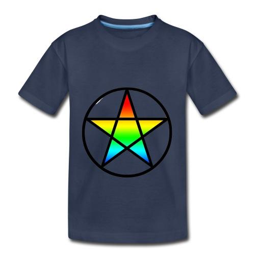 Official Iridescent Tee-Shirt // Men's // White - Toddler Premium T-Shirt