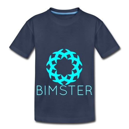 Bimster YouTube Channel Logo - Toddler Premium T-Shirt