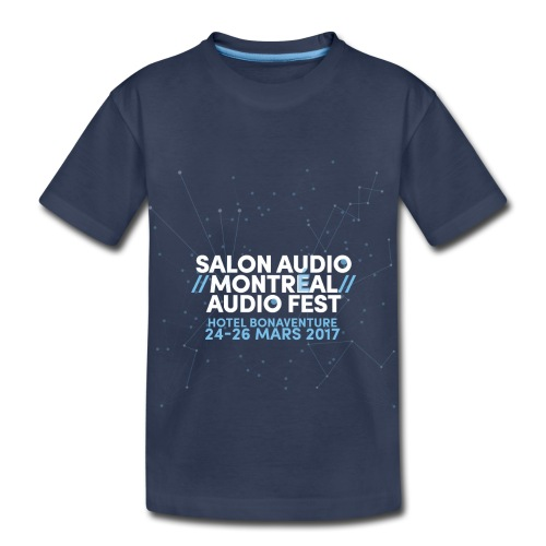 Audio Audio Festival 2017 Montreal Salon - Toddler Premium T-Shirt