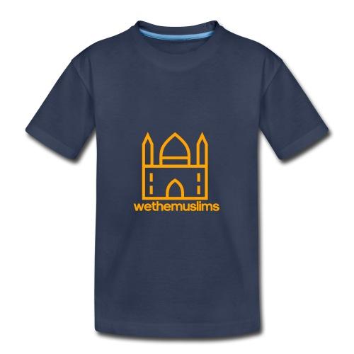 WeTheMuslims Official Merchandise - Toddler Premium T-Shirt
