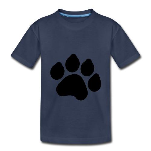 Black Paw Stuff - Toddler Premium T-Shirt