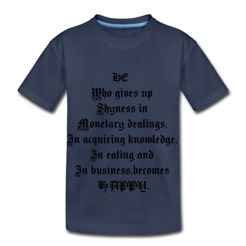 happy_nikkonik - Toddler Premium T-Shirt