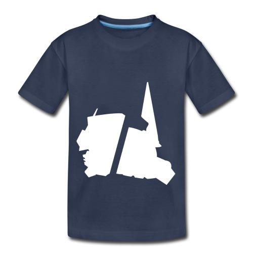 GBA_icon_white - Toddler Premium T-Shirt