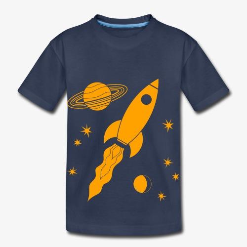 rocket orange - Toddler Premium T-Shirt