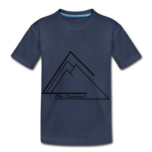 The Summit Phone case - Toddler Premium T-Shirt