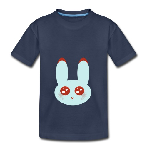 blue bunny - Toddler Premium T-Shirt