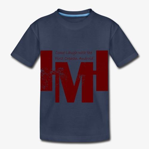 YouTube's Master Human: Grunge Underground Logo - Toddler Premium T-Shirt