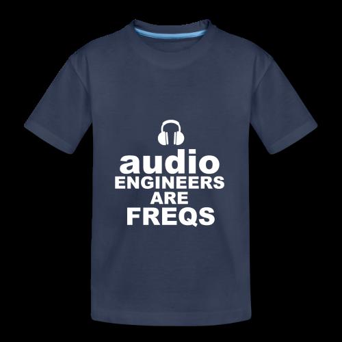 Audio Freqs - Toddler Premium T-Shirt