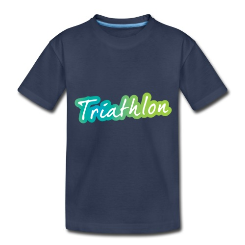 A great Triathlon gift for your friend or family - Toddler Premium T-Shirt