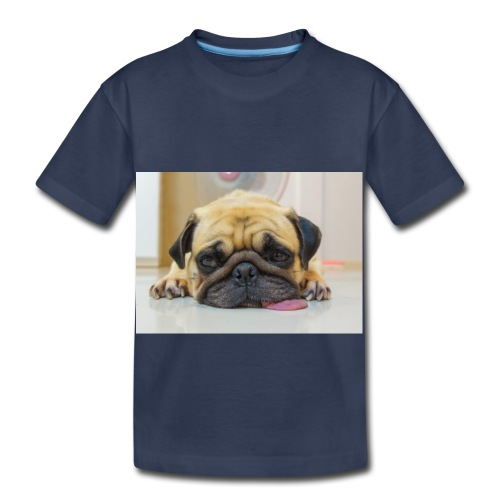 sick dog - Toddler Premium T-Shirt
