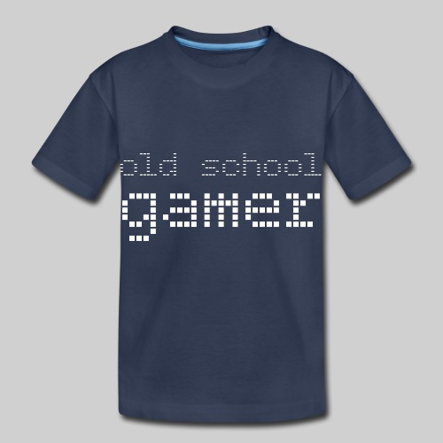 Old School Gamer - Toddler Premium T-Shirt